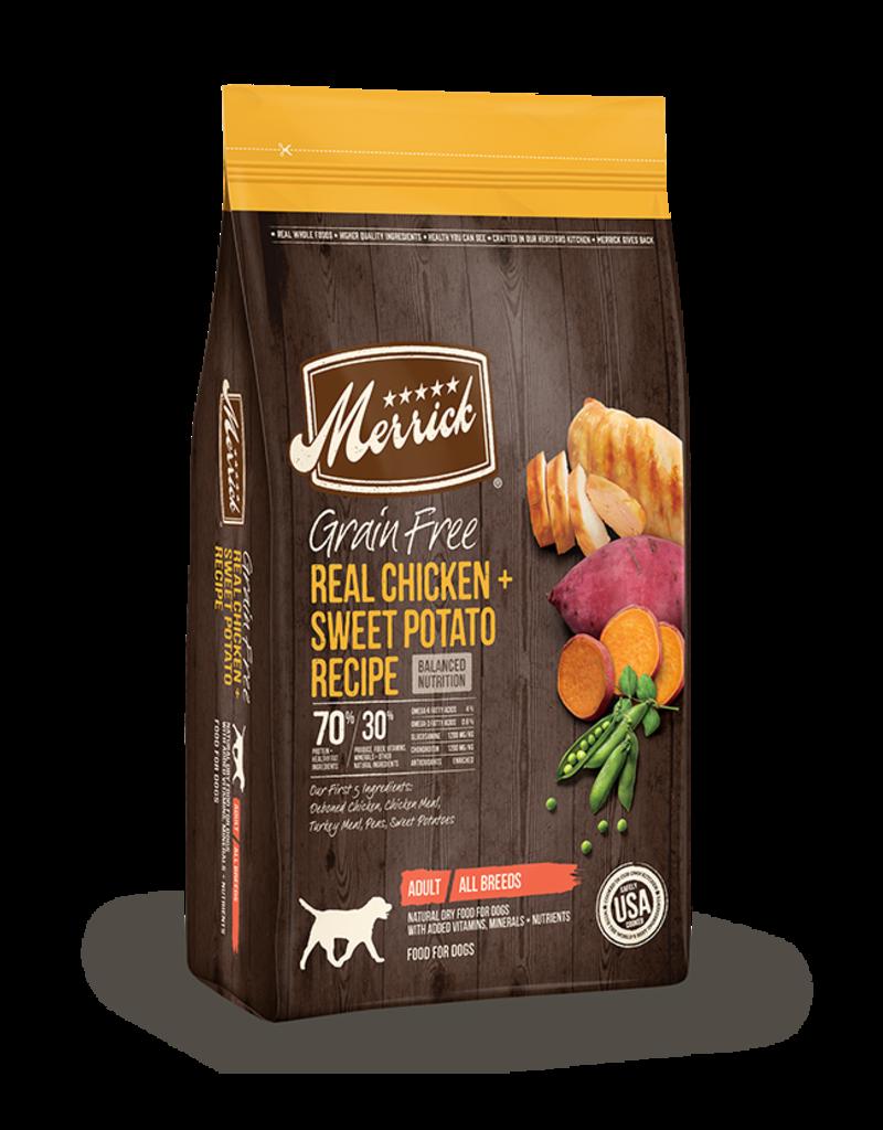 Merrick Grain Free Chicken & Sweet Potato 10lb