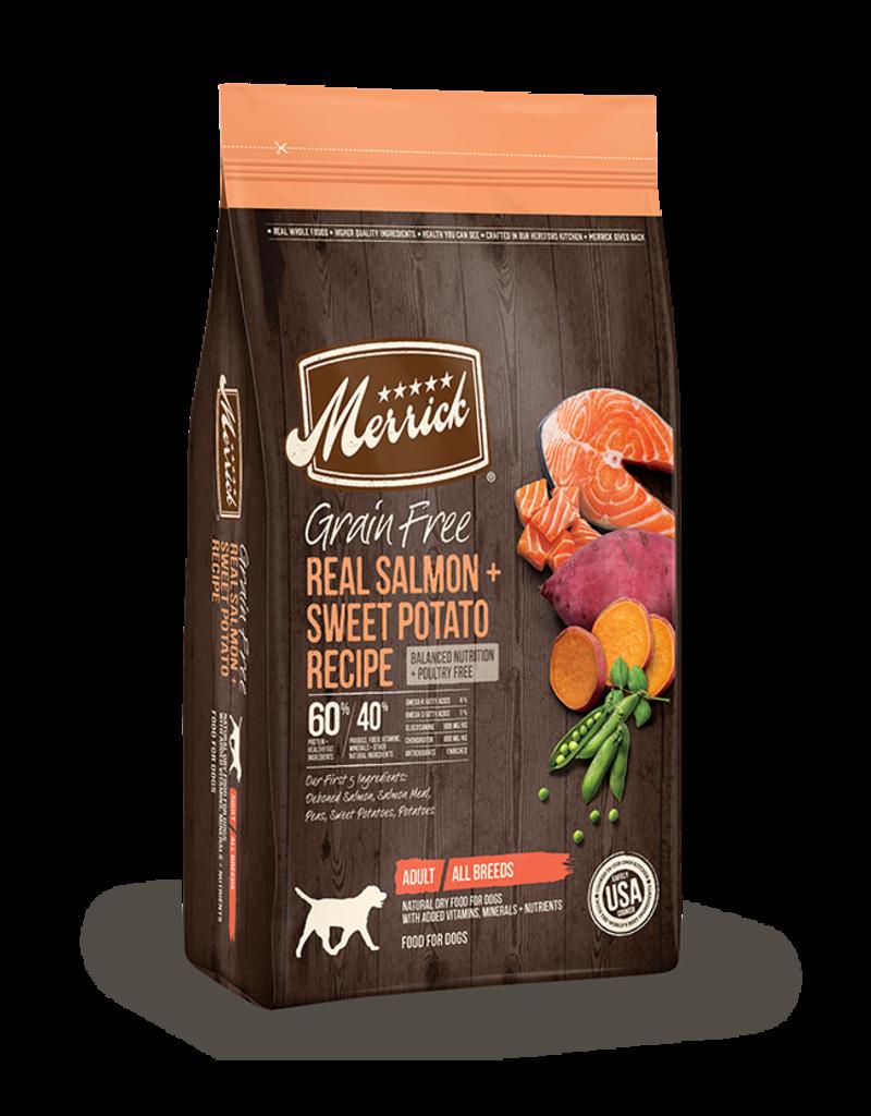 Merrick Grain Free Salmon & Sweet Potato 4lb