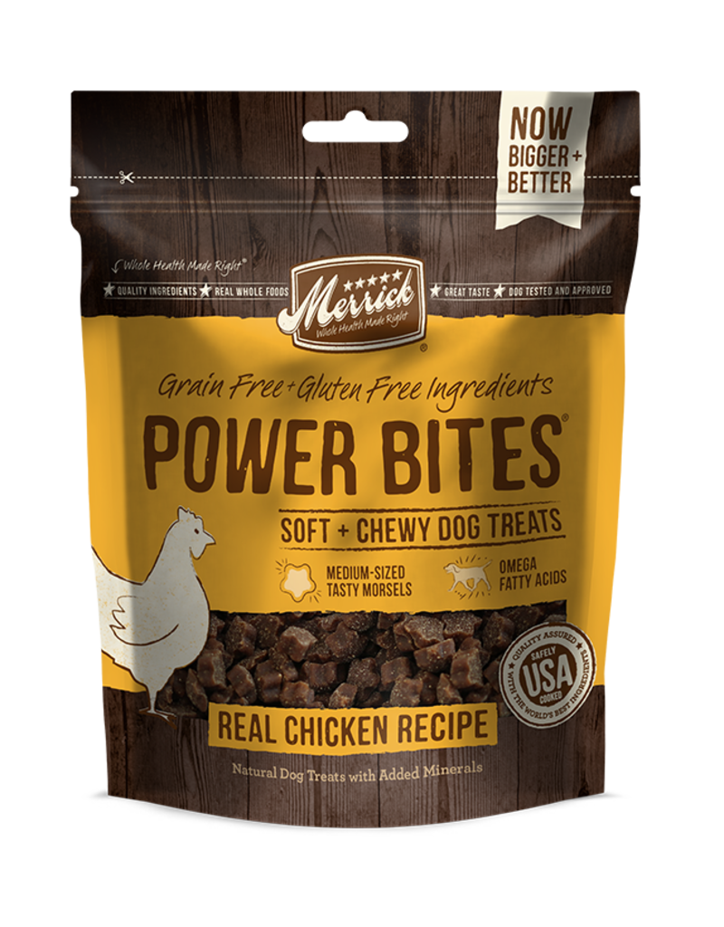 Merrick Power Bites Chicken 6oz