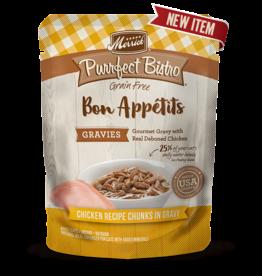 Merrick Purrfect Bisto Bon Appetits Chicken Chunks in Gravy 3oz