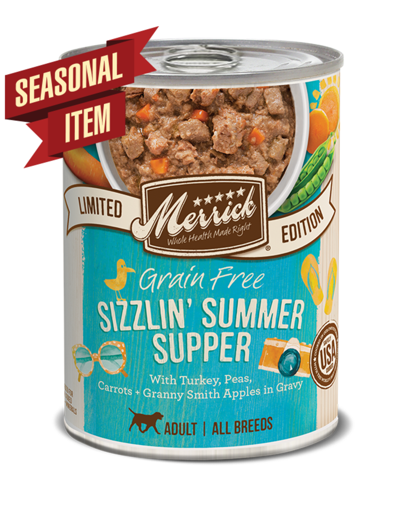 Merrick Seasonals Sizzlin' Summer Supper 12.7oz