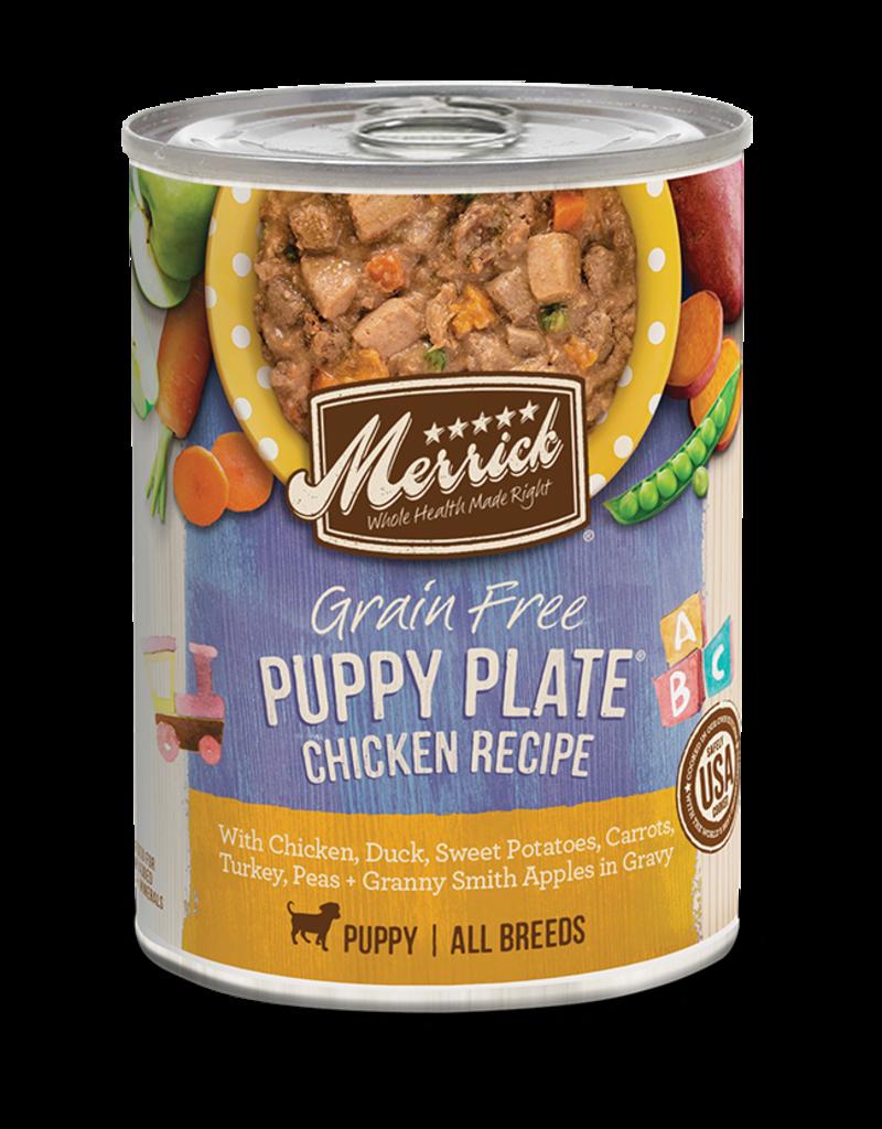 Merrick Puppy Plate Chicken in Gravy 12.7oz