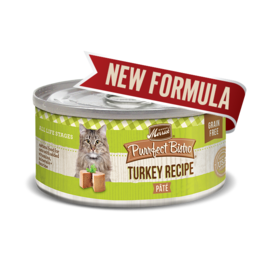 Merrick Purrfect Bistro Turkey Pate 3oz
