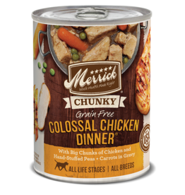 Merrick Chunky Colossal Chicken Dinner 12.7oz