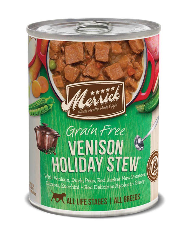 Merrick Venison Holiday Stew 12.7oz