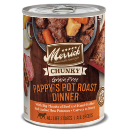 Merrick Chunky Pappy's Pot Roast Dinner 12.7oz