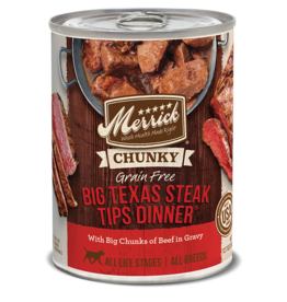 Merrick Big Texas Steak Tips Dinner 12.7oz