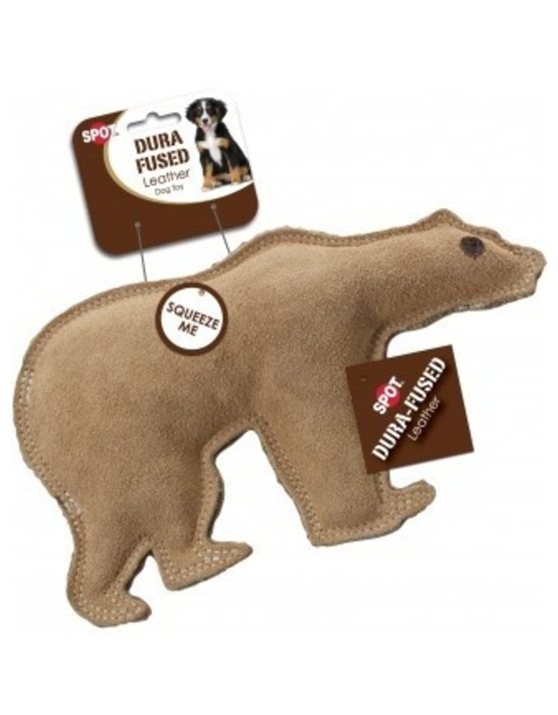 Ethical Pet Dura Fused Leather & Jute Bear