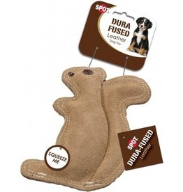 Ethical Pet Dura Fused Leather & Jute Squirrel