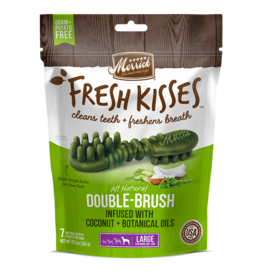 Merrick Fresh Kisses Double-Brush with Coconut & Botanical Oils Large 4ct