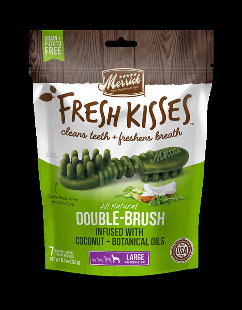 Merrick Fresh Kisses Double-Brush with Coconut & Botanical Oils Large 4ct