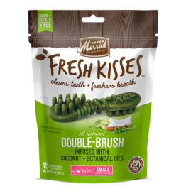 Merrick Fresh Kisses Double-Brush with Coconut & Botanical Oils Small 15ct