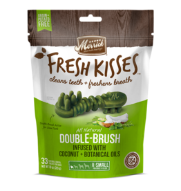 Merrick Fresh Kisses Double-Brush with Coconut & Botanical Oils XS 20ct
