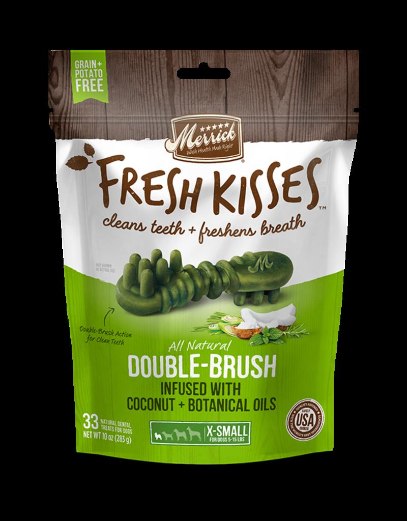 Merrick Fresh Kisses Double-Brush with Coconut & Botanical Oils XS 20ct