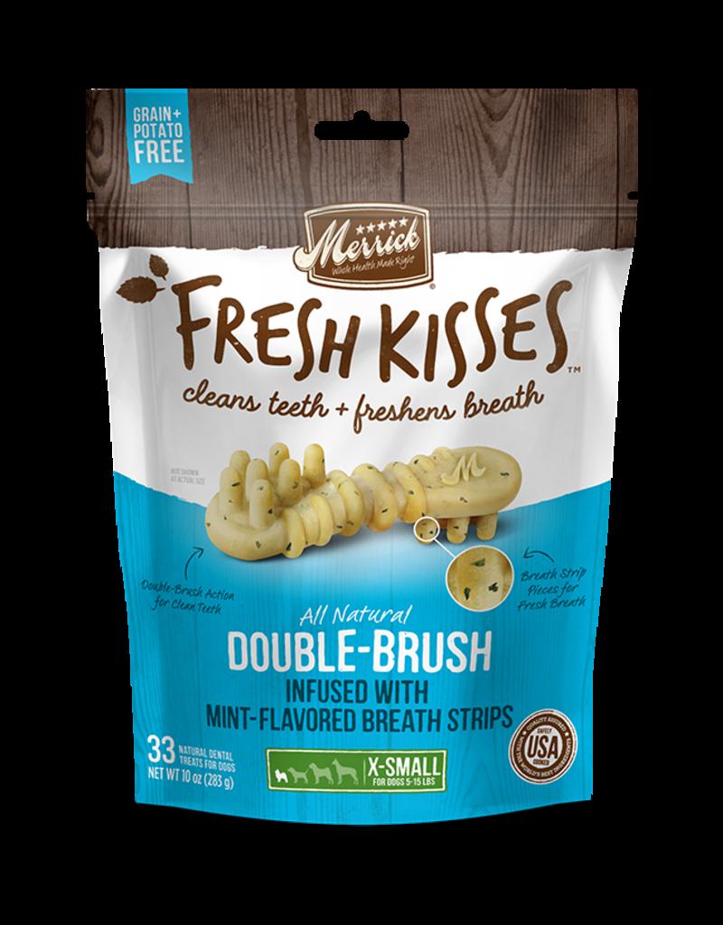 Merrick Fresh Kisses Double-Brush with Mint Breath Strips 33ct