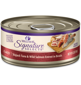Wellness Signature Selects Tuna & Salmon 5.3oz