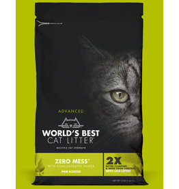 World's Best Cat Litter Advanced Zero Mess Pine Scented 24lb