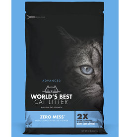 World's Best Cat Litter Advanced Zero Mess Unscented 24lb