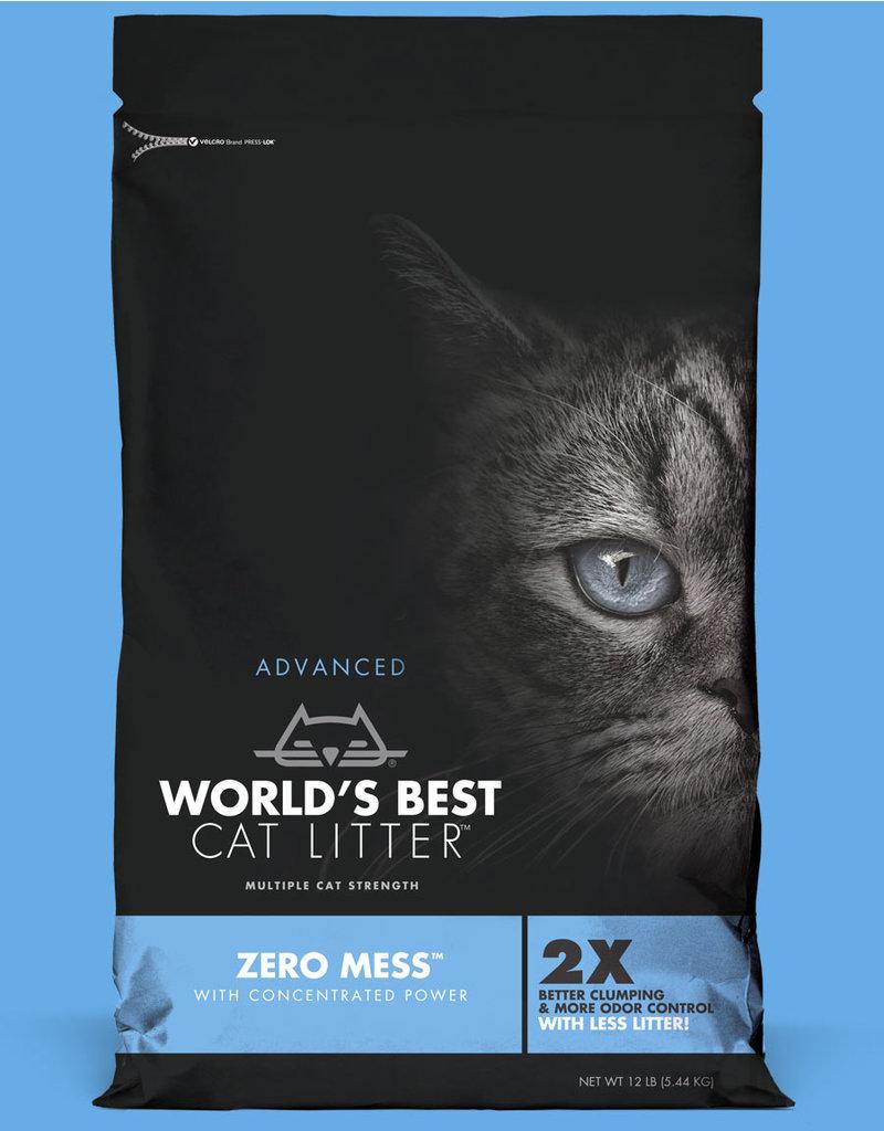 World's Best Cat Litter Advanced Zero Mess Unscented 24lb