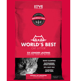 World's Best Cat Litter Multi-Cat Clumping Red  28lb