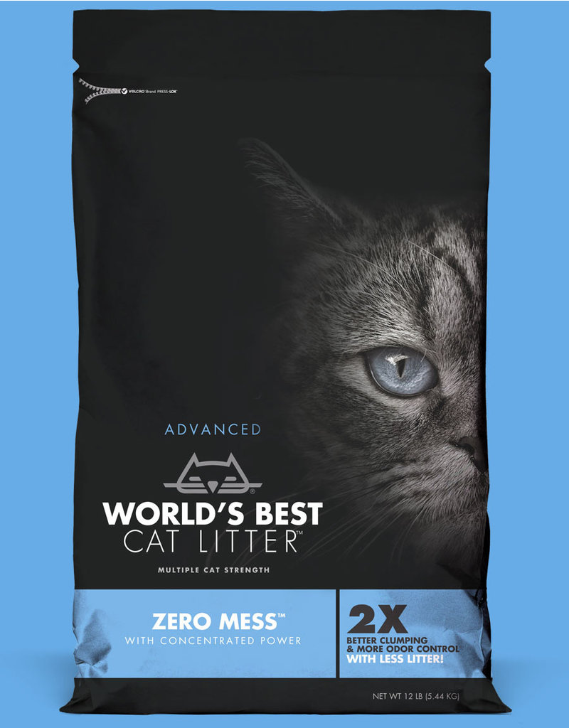 World's Best Cat Litter Advanced Zero Mess Unscented 12lb