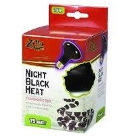 Zilla Bulb Black Heat Incandescent 75w
