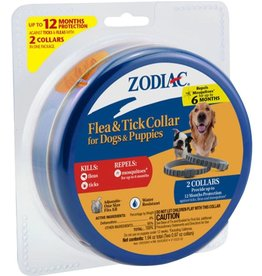 Zodiac Flea & Tick Collar 12 Month Protection Puppy 2pk