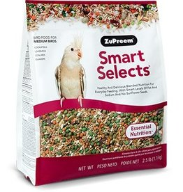ZuPreem Smart Selects for Medium Birds 2.5lb