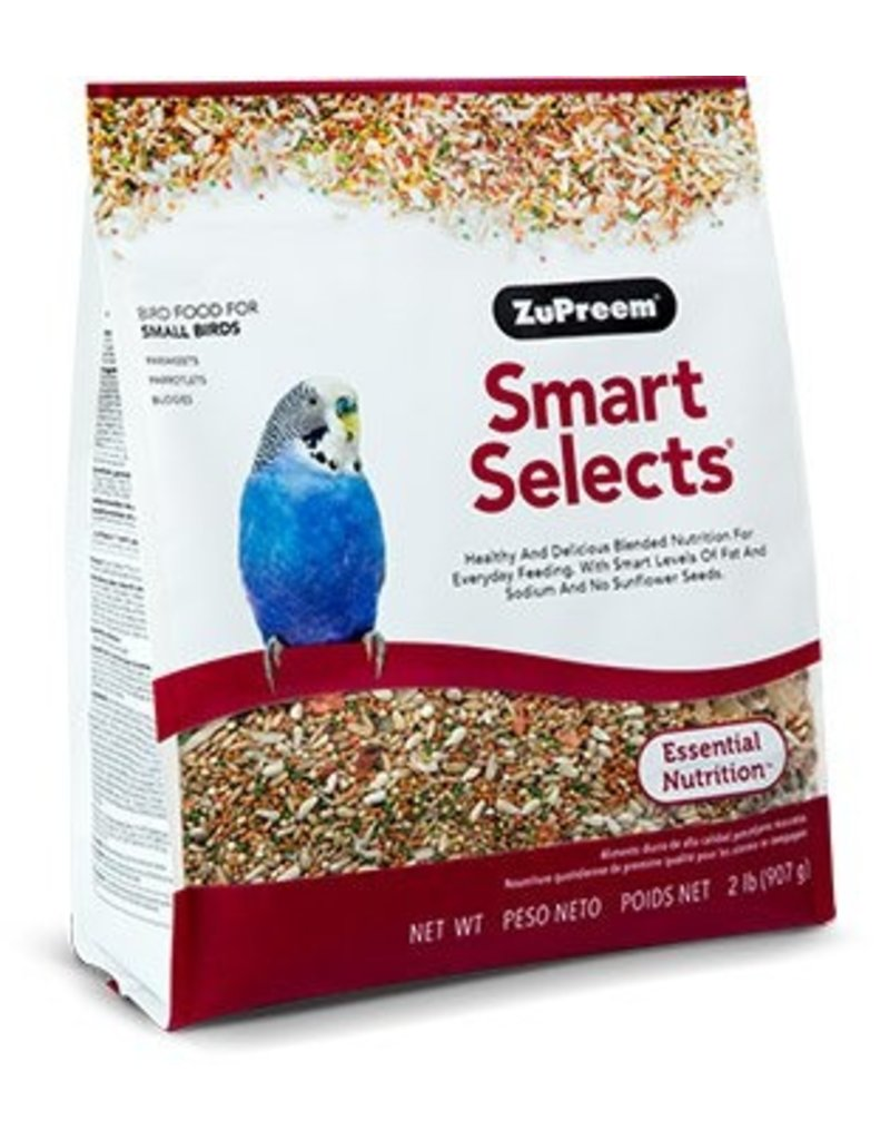 ZuPreem Smart Selects for Small Birds 2lb