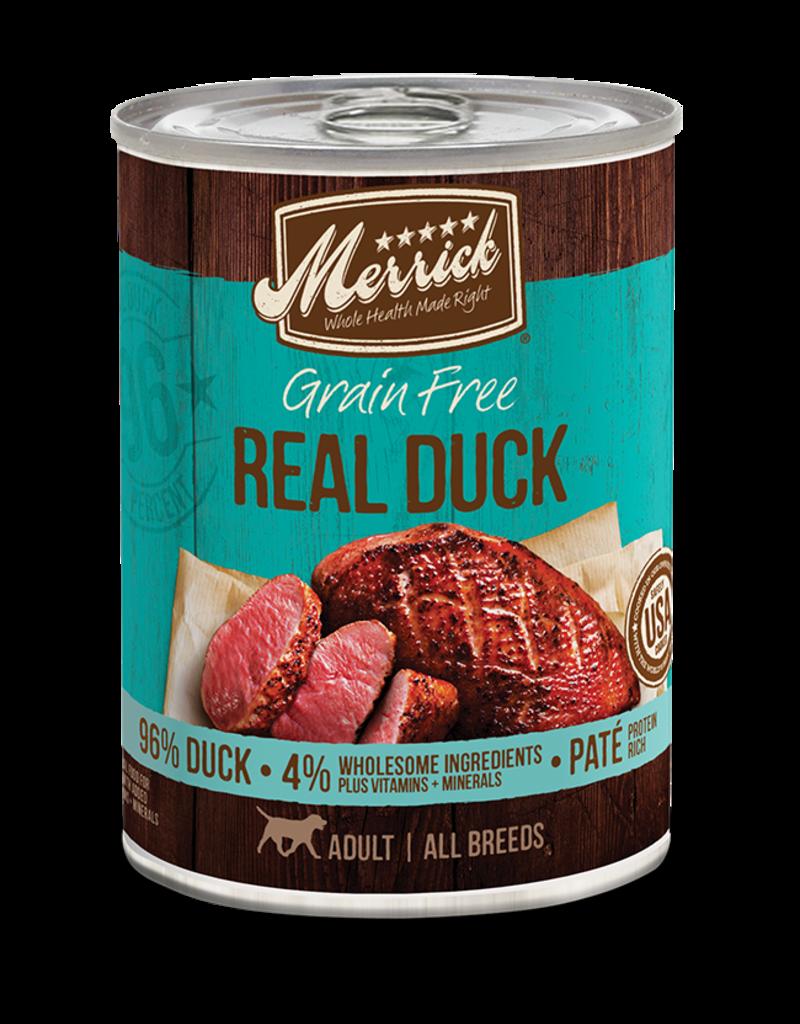 Merrick Grain Free Duck 12.7oz