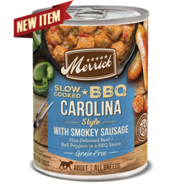 Merrick Slow Cooked BBQ Carolina Style Sausage 12.7oz
