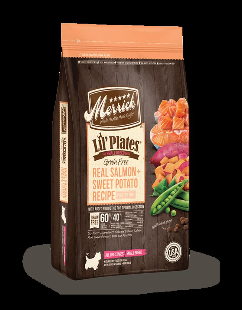 Merrick Lil' Plates Grain Free Salmon & Sweet Potato 12lb