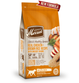 Merrick Classic Healthy Grains Chicken & Brown Rice 12lb