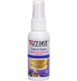 Zymox Topical Spray with .5% Hydrocortisone