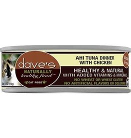 Dave's Cat Naturally Healthy Ahi Tuna & Chicken 5.5oz