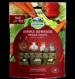 Oxbow Simple Rewards Veggie Treats 3oz