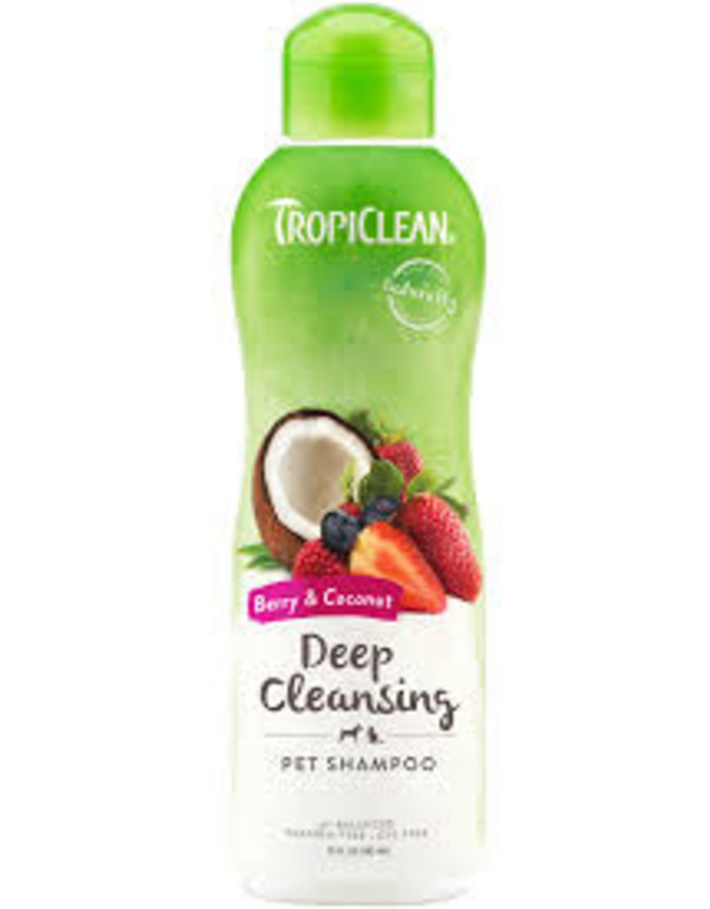 TropiClean Berry & Coconut Deep Cleansing Shampoo