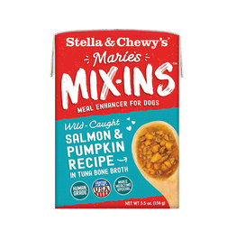 Stella and Chewy's Marie's Mix-Ins Salmon & Pumpkin 5.5oz