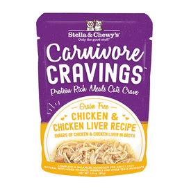 Stella and Chewy's Carnivore Cravings Chicken & Chicken Liver 2.8oz