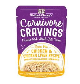 Stella & Chewy's Carnivore Cravings Chicken & Chicken Liver 2.8oz