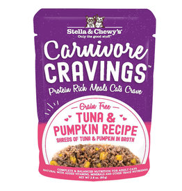 Stella & Chewy's Carnivore Cravings Tuna & Pumpkin 2.8oz