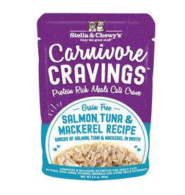 Stella and Chewy's Carnivore Cravings Salmon Tuna & Mackerel 2.8oz
