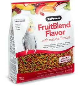 ZuPreem Fruit Blend for Medium Birds 2lb