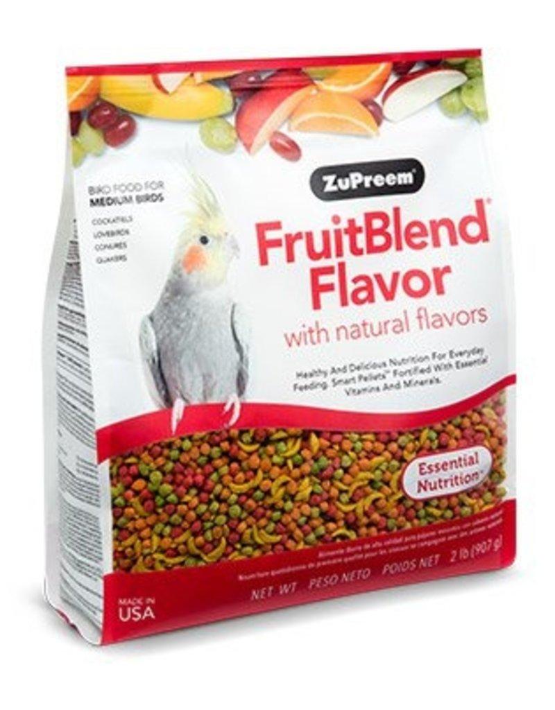 ZuPreem Fruit Blend for Medium Birds 2lb