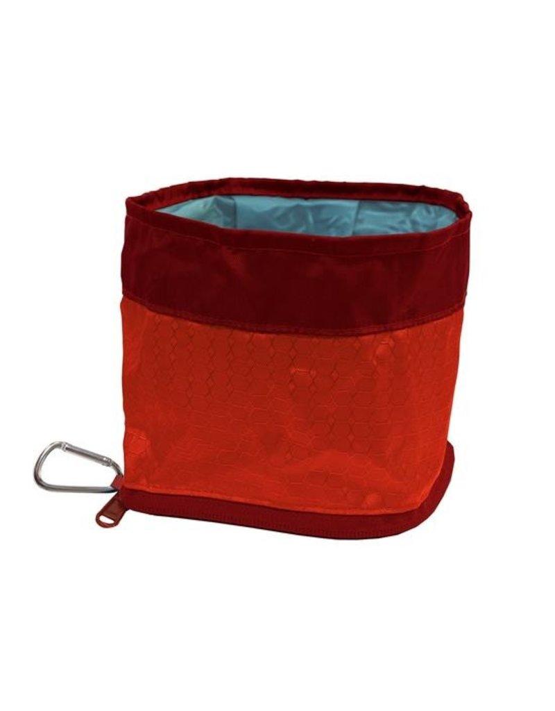 Kurgo Zippy Bowl Red