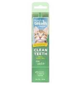 TropiClean Fresh Breath Clean Teeth Gel 2oz
