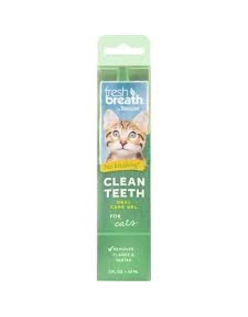 TropiClean Fresh Breath Clean Teeth Gel 2oz