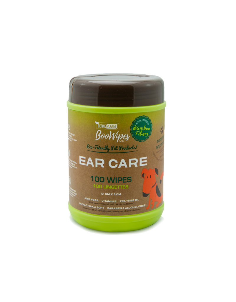 Define Planet Boowipes Bamboo Ear Wipes 100ct
