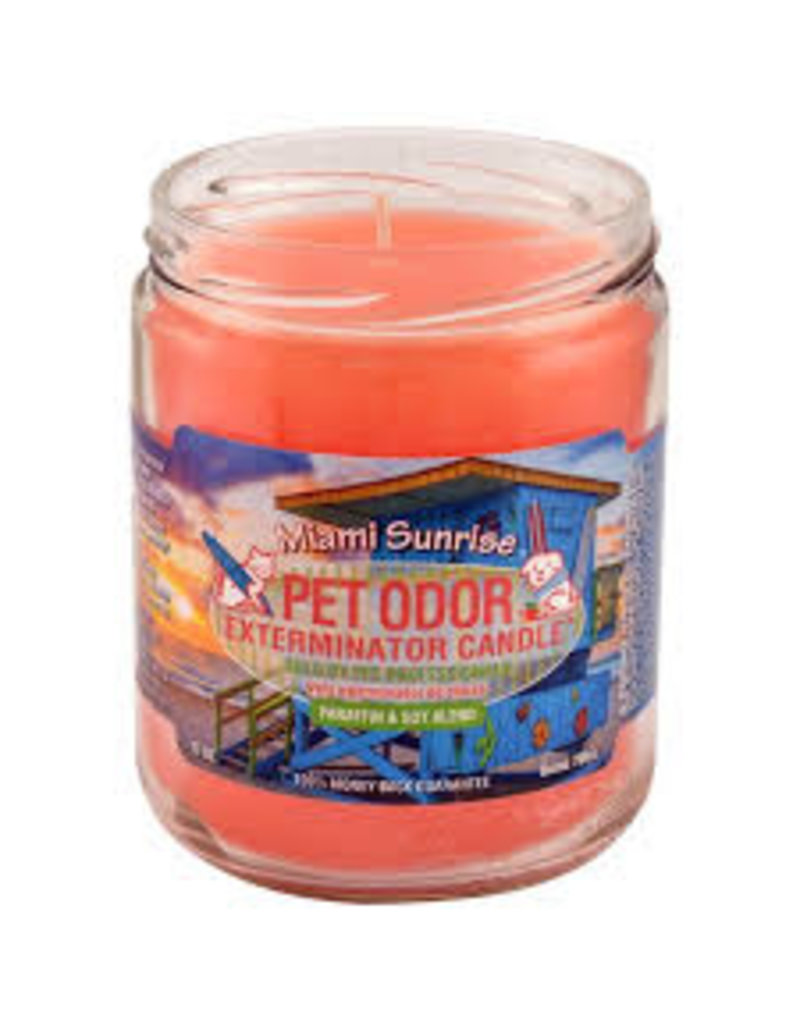 Specialty Pet Products Odor Exterminator Candle Miami Sunrise