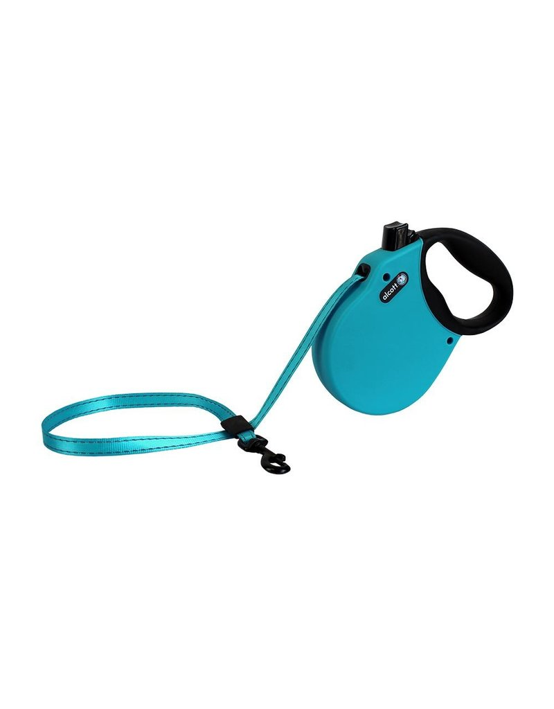 Alcott Adventure Retractable Leash  Blue Small